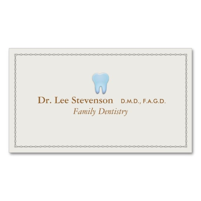 2211 best appointment business card templates images on pinterest dentist office tooth logo appointment business card templatesbusiness wajeb Image collections