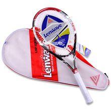 US $23.23 Carbon Aluminum Head Tennis Racket Lenwave Brand Men and women sports training Head Racquette High Quality Tennis Racquet. Aliexpress product