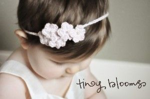 Spring Blooms Crochet Flower Headbands Patterns Baby to...