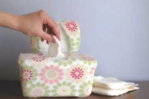 salviette umidificate fatte in casa