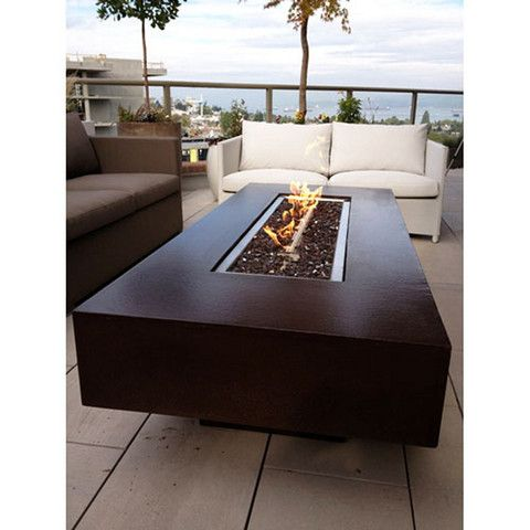 "30"" x 72"" Rectangular You-Design-It Custom Made 2-Piece Fire Pit Table - The Fire Pits Store - 1"