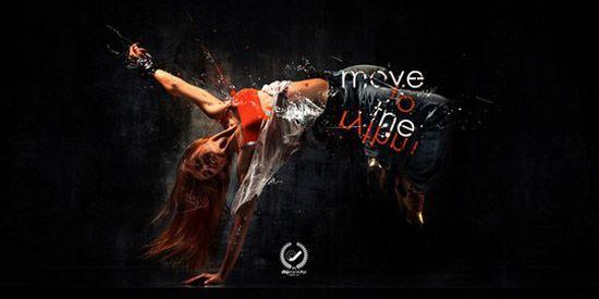 30 Stunning Dance Photo Manipulations