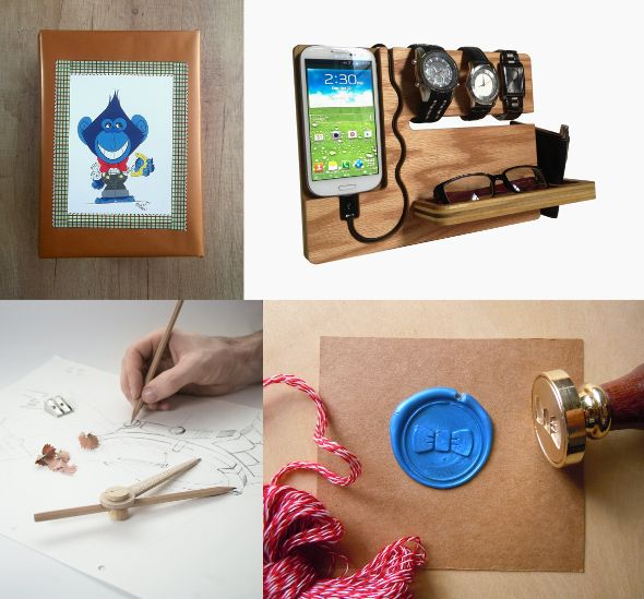 Nerds | Architects | Designers Terrapin and Toad: Etsy gift guide and wrapping ideas