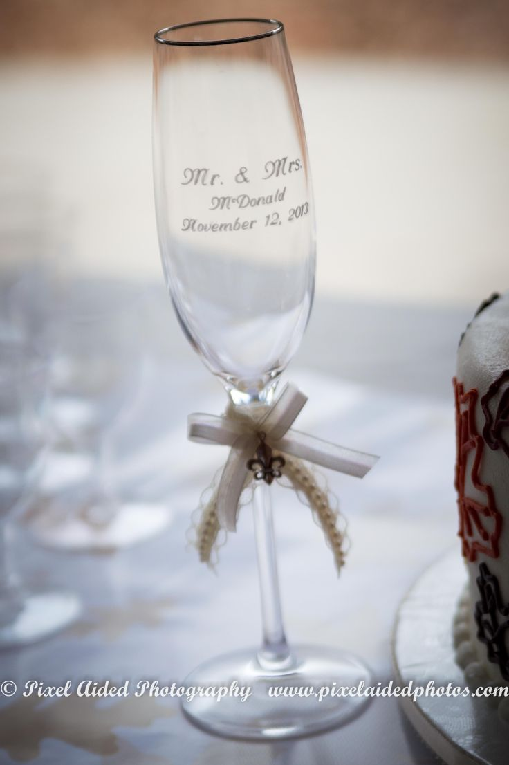 Engraved Champagne Glasses Wedding Ideas Wedding Gifts