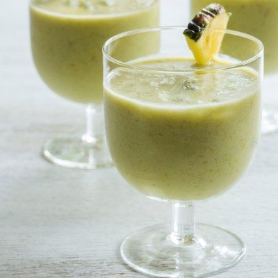 Create tropical evening mocktails with Nadia Lim's Avocado Pina Colada shake - or as we like to call it: an Avocolada!