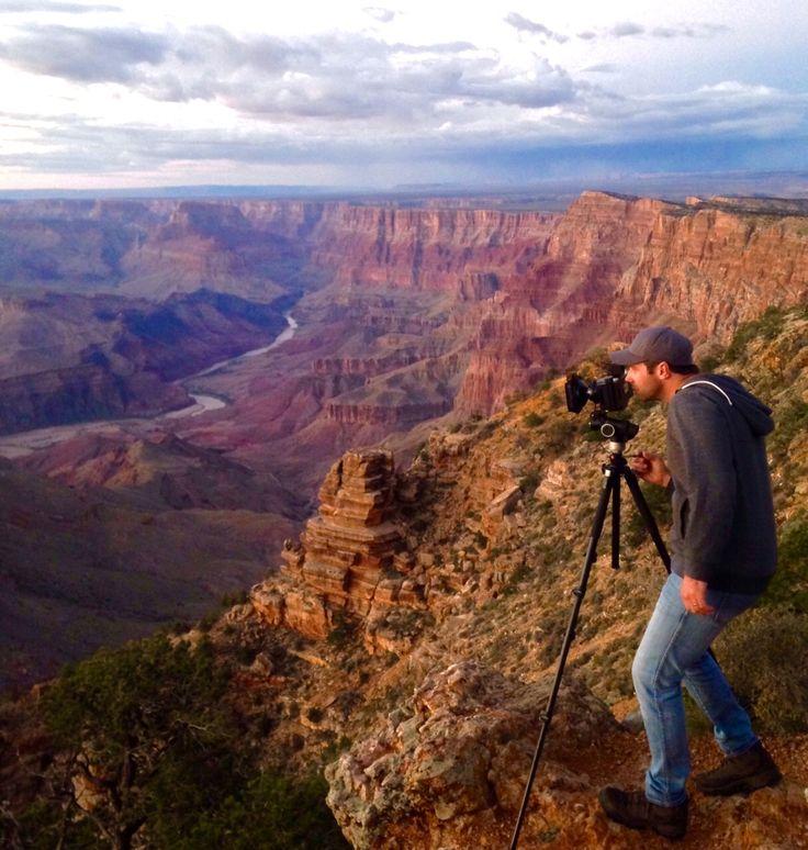 Shaun at the Grand Canyon.