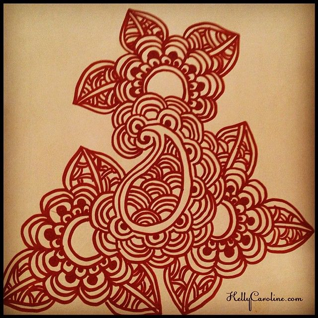Mehndi Patterns Easy On Paper : Best henna images on pinterest backgrounds mandalas
