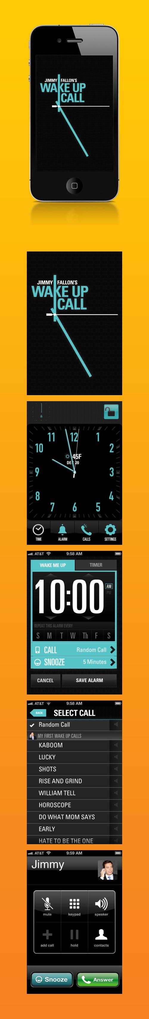 Jimmy Fallon's Wake Up Call / By Sparklefarmer Inc