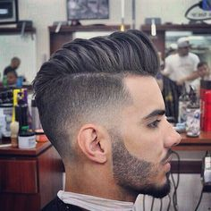 Top 15 Cool Men's Fade Haircuts Of 2015 http://www.menshairstyletrends.com/top-15-cool-mens-fade-haircuts/