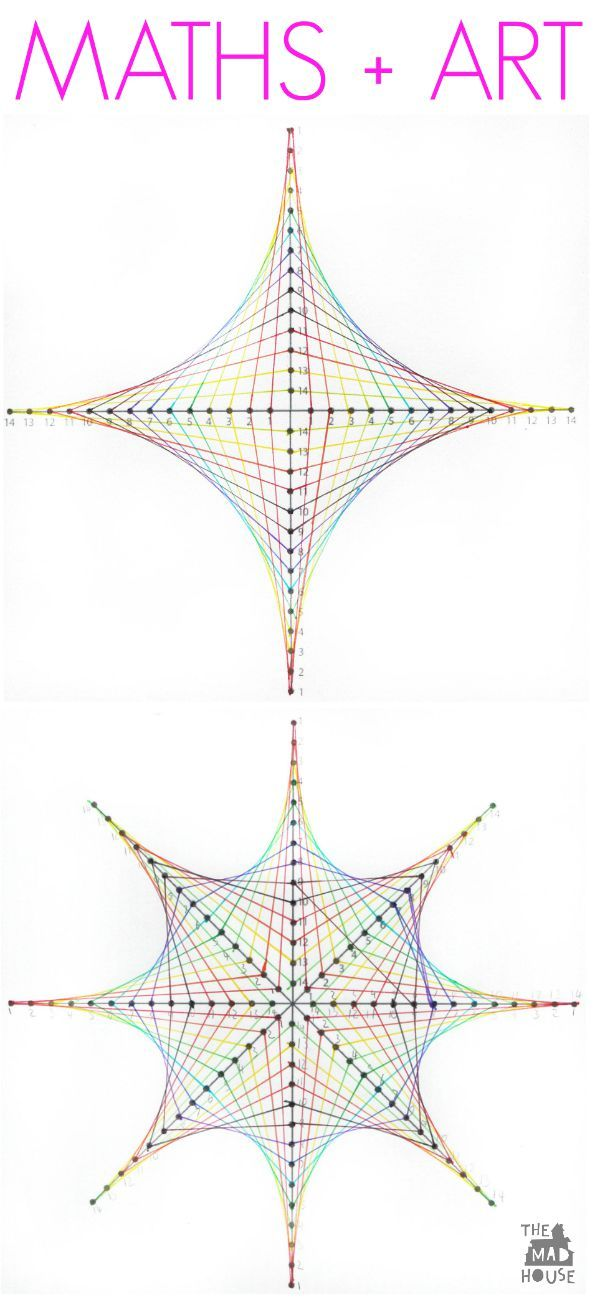 Free parabolic curves graph printables for a fun math and art activity