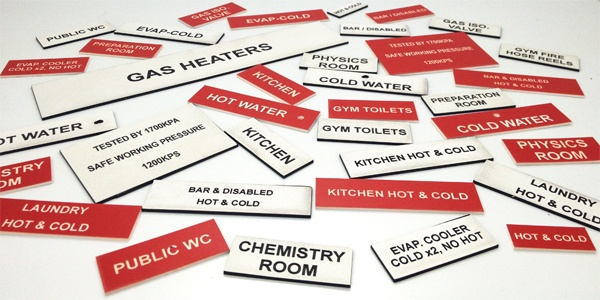 Laser Engraved Labels Plastic Switchboard And Electrical