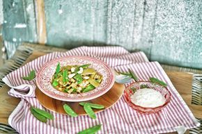 Leckeres Curry-Rezept aus Sri Lanka mit Kichererbsen, Bohnen und Zuckerschoten