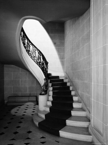 staircases in mansions | Staircase Inside Mansion Named Carolands, Built by Mrs. Harriet ...