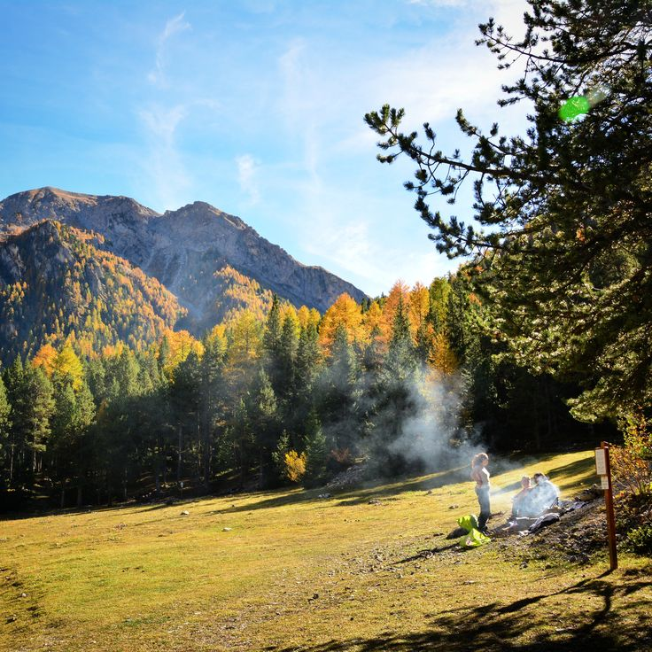 Douceur de vivre au Val d'Escreins... En plein mois d'Octobre ! :-) #Vars #VarsFob #MyHautesAlpes #TourismePACA #Montagne #Automne