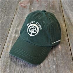 Arbor Day 'Plant Trees' Cap - Green - Trees for Sale at the Arbor Day Tree Nursery