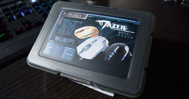 PC Gaming mouse with a flair E-Blue Mazer TYPE-R 2500 DPI - http://wp.me/p7vS8f-tC #eblue #ebluemazertyper #excelvan #mazer #mouse #review