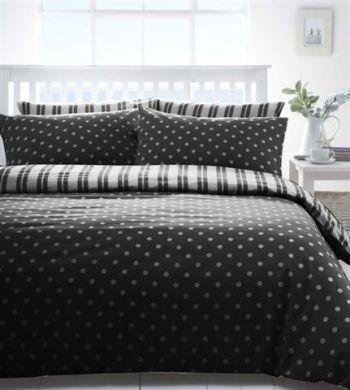 White Stripe Bed Linen
