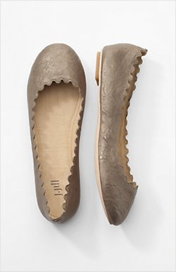 J.Jill flats that look just like Chloe, love them in Carbon ( which is a blue color)