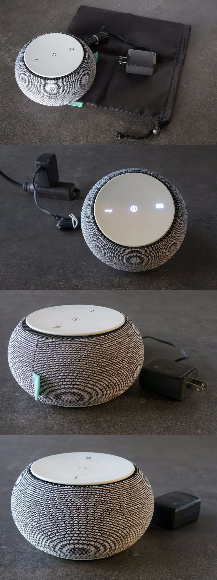 Sound Therapy: Snooz White Noise Machine With Real Fan Inside From Kickstarter Can T Play Music -> BUY IT NOW ONLY: $75 on eBay!