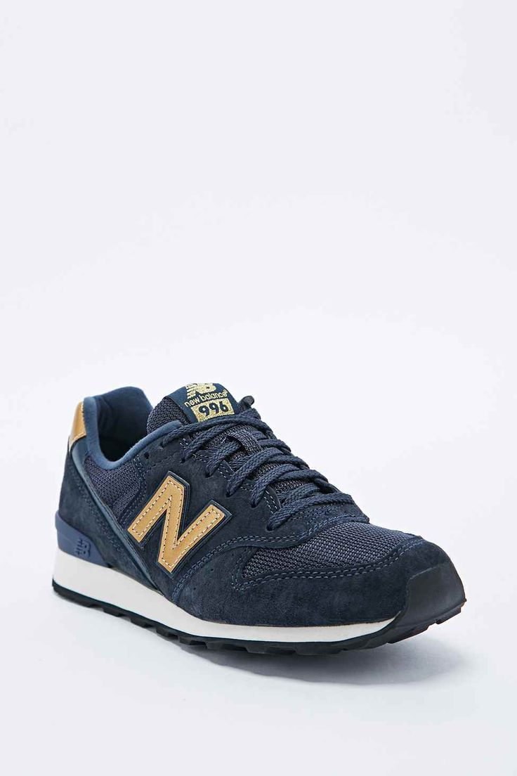 New Balance 996 Gold Bleu