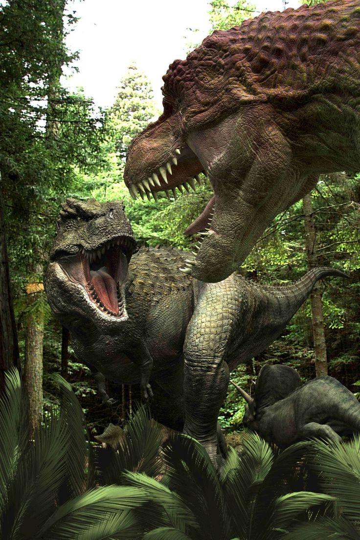 Тарбозавр в картинках