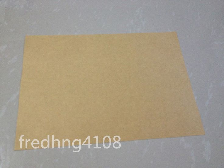 10pc A4 Kraft Printable Self Adhesive Label Sticker Printer Paper Matte Sheet #UnbrandedGeneric