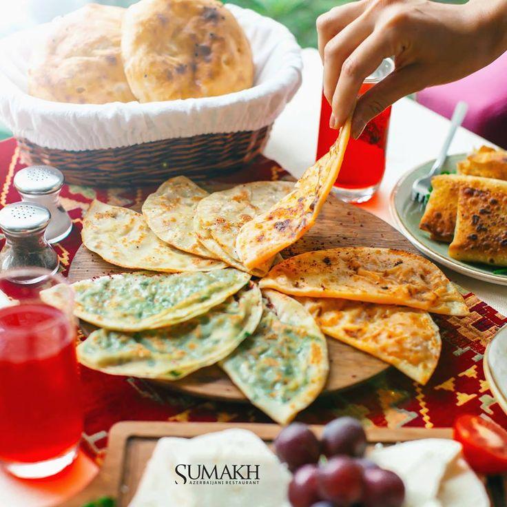 Qutabs #sumakhrestaurant #sumakh #beatgroup #baku #azerbaijan #nationalcuisine #traditionalcuisine #food #cuisine #restaurants #qutabs