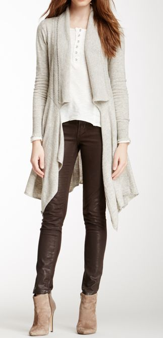 I love that nothing matches! When working with neutrals you don't need to match.