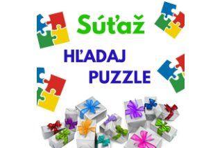 Súťažte s nami o pekné ceny! Nájdite 3 z 5 symbolov puzzle, pošli email a vyhraj.