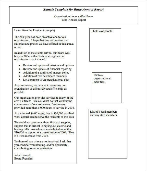 Nonprofit Annual Report Template Uncommon 27 Annual Report Templates To Download Word Pdf Of Nonprofit Annual Report Statement Template Annual Report