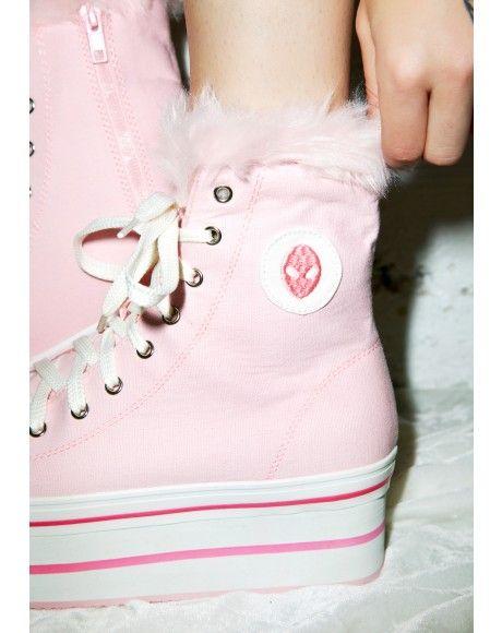 Platform Sneakers for Women - Slip On, High Top | Dolls Kill