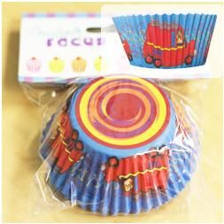 683 - Firefighter Cupcake Cases Firefighter Cupcake Cases - contains 50 cupcake cases