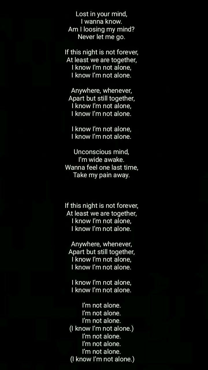 This Song With Images Alan Walker Alone Lyrics Walker