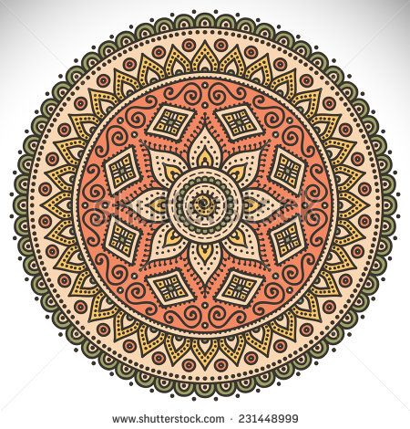 Flower Mandala Stock Photos, Images, & Pictures   Shutterstock