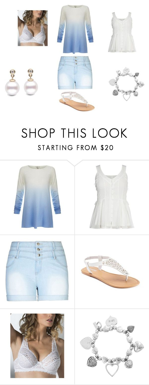 """""""Untitled #44"""" by kate-goldthwaite ❤ liked on Polyvore featuring Joie, City Chic, SONOMA Goods for Life, Naturana, ChloBo and plus size clothing"""