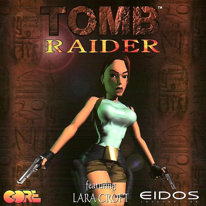 Tomb Raider 1996. I Love Tomb Raider, my all time favorite game ever!!!