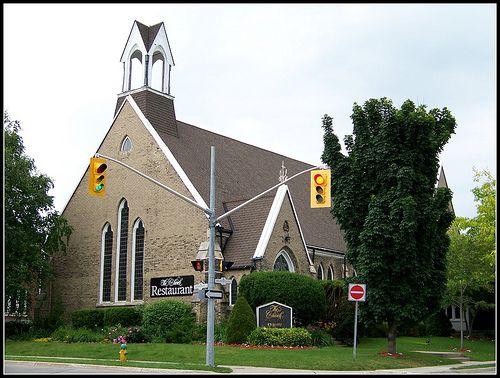 The Church Restaurant & Bar, formerly Mackenzie Memorial Gospel Church