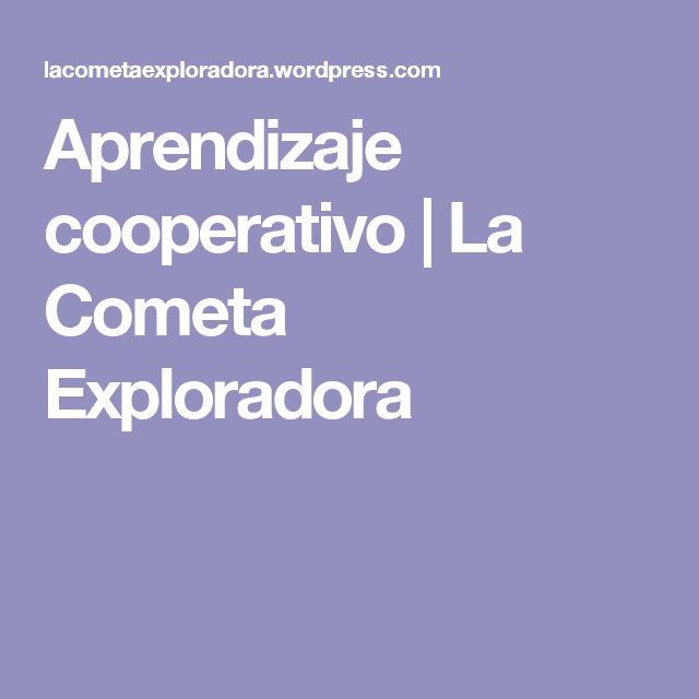 Aprendizaje cooperativo | La Cometa Exploradora