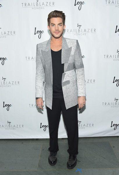 Adam Lambert Photos - Logo's 'Trailblazer Honors' 2015 - Arrivals - Zimbio