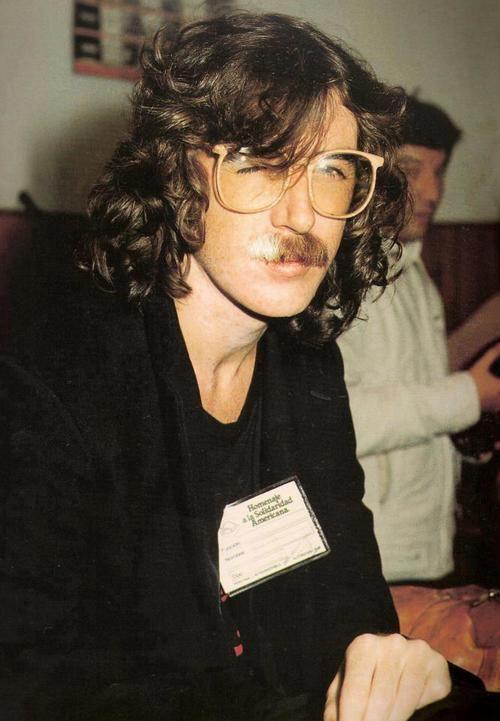 García en el Festival Solidaridad Americana - 1982