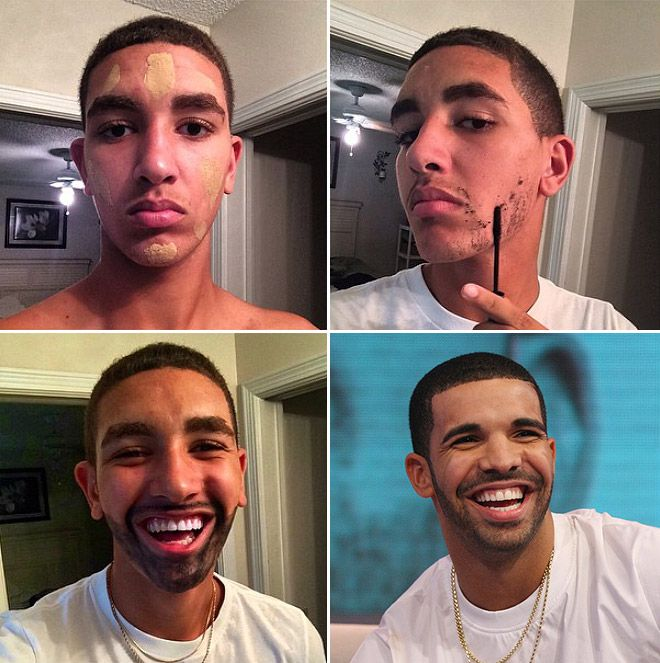 how to look like drake