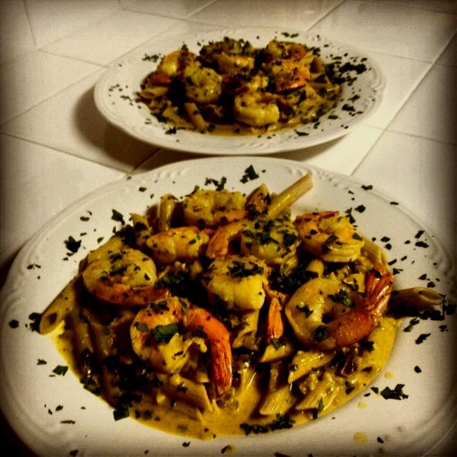 Curry Shrimp & PennePescetarian Recipe, Yum Yum, Curries Shrimp, Favorite Recipe, Pantries Doors