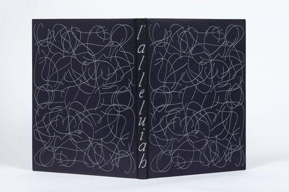 Georges BATAILLE - Jean FAUTRIER L'ALLELUIAH (CATECHISME DE DIANUS). AVEC NEUF DESSINS ORIGINAUX, LITHOGRAPHIES ET LETTRINES DE JEAN FAUTRIER Paris, Librairie Auguste Blaizot, 1947. BINDING: P.-L. Martin - 1962