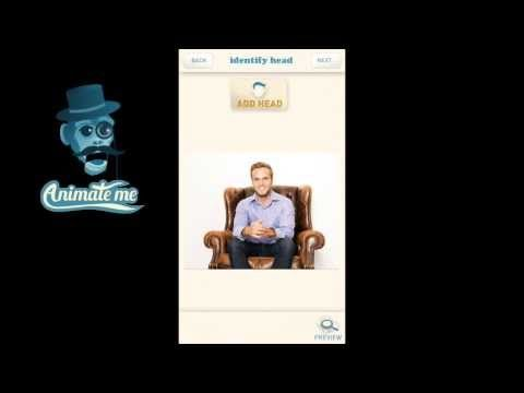 How to make photos talk and How to animate photos. In this video you can see how to select an area to animate by simply filling it in with the brush tool.  Download the Animate Me app here: http://www.animatemeapp.com/get