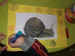 """Résultat de recherche d'images pour """"escargot maternelle arts plastiques"""""""