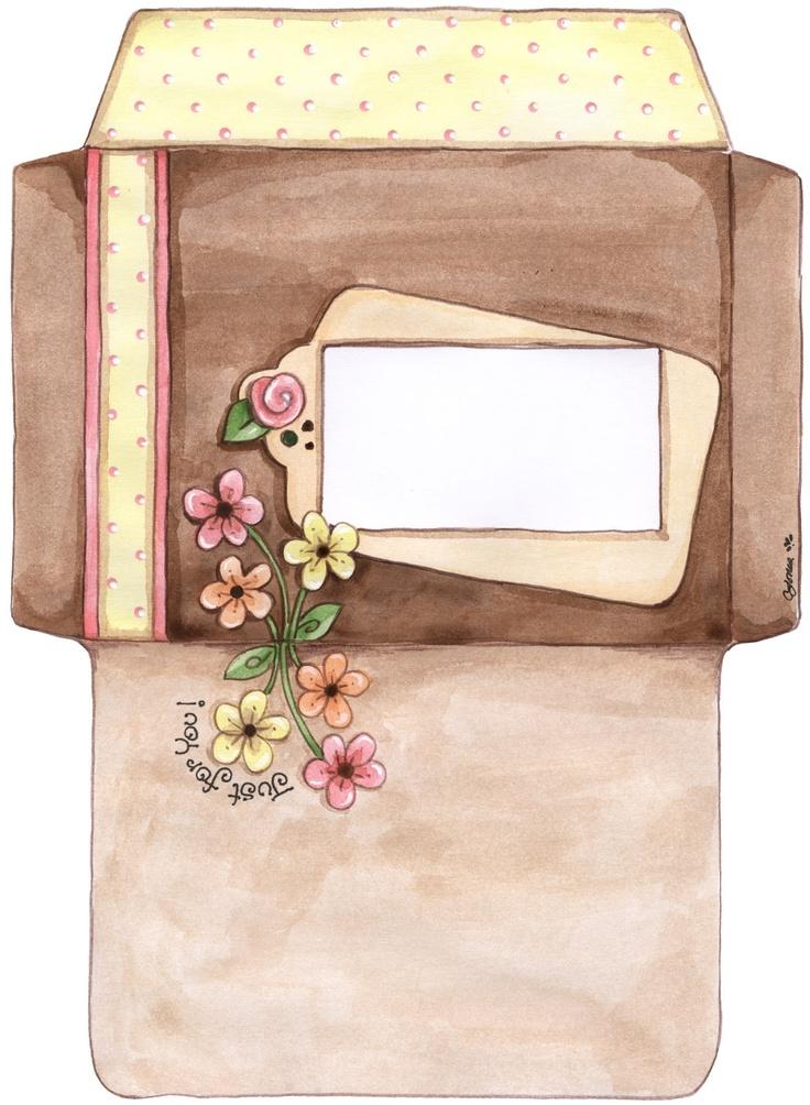 gift boxes, card envelops ~ katilbalina   decoupage pictures