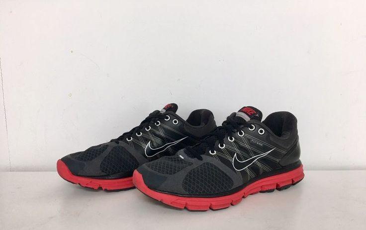 Men's Nike Lunarglide 2 Running shoes - Black/Red - size 10