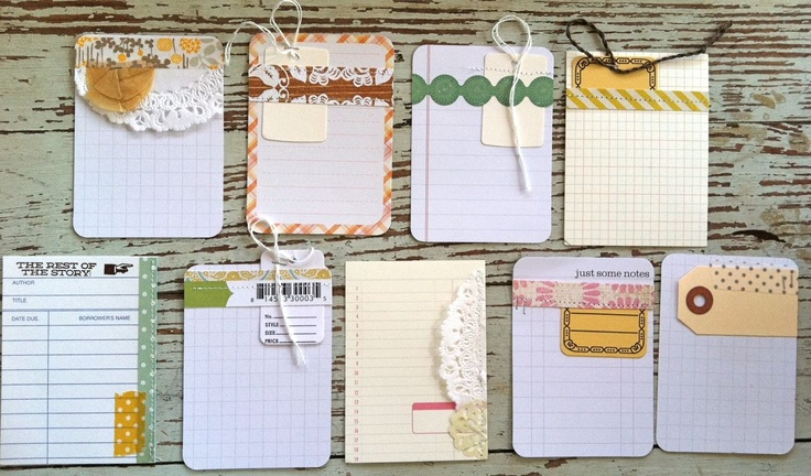 Mish Mash: Handmade Project Life Journaling Cards...: Projects, Cards Project Life, Handmade Project Life Cards, Craft, Life Idea, Handmade Journalingcards, Projectlife