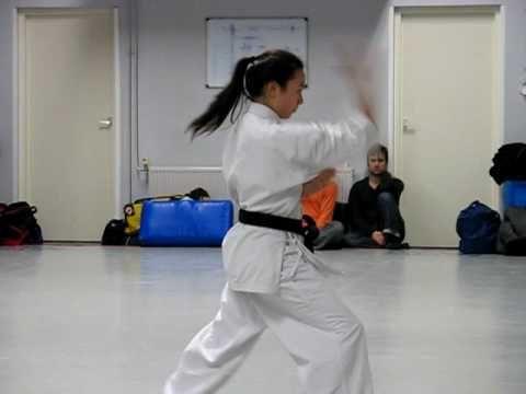 Okinawa Goju Ryu Karate-do. Shisochin kata. - YouTube