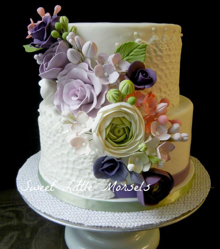 bridal shower cake cake decorating ideas pinterest a month left over and flower. Black Bedroom Furniture Sets. Home Design Ideas